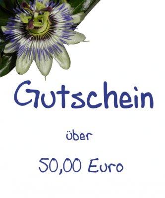 Gutschein - 50,00 Euro -